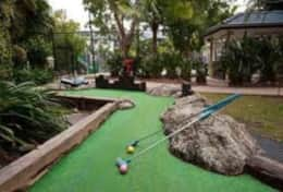 17 hole mini putt putt golf course throughout the resort - Free!