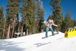 Northstar Ski Resort boasts an impressive 2,280 foot vertical drop, a run that's over a mile long