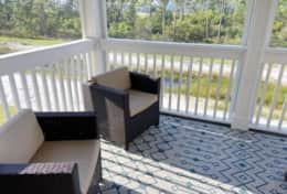 Outdoor Screened Balcony