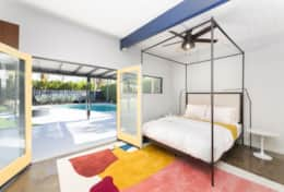 Second Master Bedroom (Queen bed) opens directly to the pool.