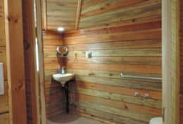 Bathroom with Transfer Bars