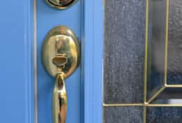 Keypad Lock on main entry