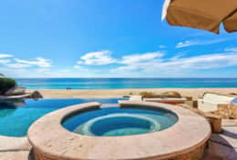 POOL and JACUZZI. Beachfront Private Villa Vacation Rentals Los Cabos