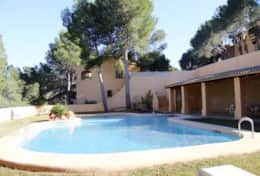 Holiday rental house in Moraira for 8 people