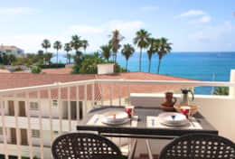 Enjoy Breakfast on the Balcony