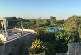Le More - view of the solarium and of the pool - Spongano - Salento