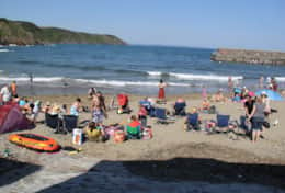 Beach days at Gorran Haven