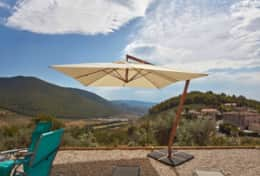 Villa Silvignano private pool with great views