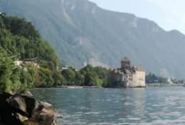 Lake and castle