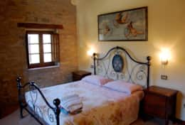 First floor bedroom 2 in the main villa