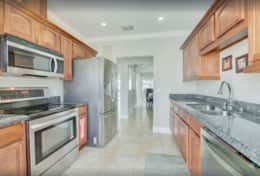 Gourmet Kitchen with Granite Counter Tops
