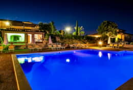Agriturismo Montepulciano by night