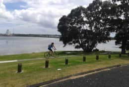 Mangre Bridge cycle way
