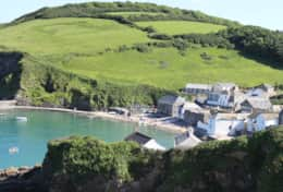 Gorran Haven from the cliffpath