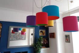 Lounge - Lampshades and mirror