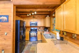 Waynesville Smokies Overlook Lodge Cabin - Kitchen 1