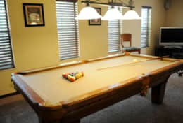 moonshine cabin pool table
