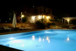 Villa Badia by night
