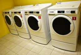 Laundry room - washer & dryer machines on each floor
