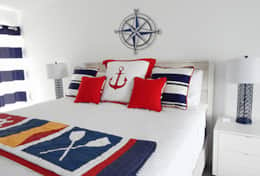 #12A Nautical Charm - all new furnishings with KIng bed