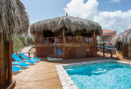 Pool and main palapa and 2 annexes