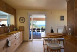 Kitchen seaview