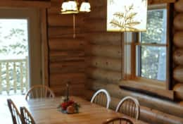 Wilmington Range Chalet has a fully equipped kitchen for up to 6 persons