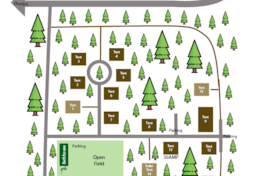 POV Campgrounds Map