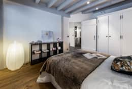 Double bedroom at le 1818 Brides-les-Bains