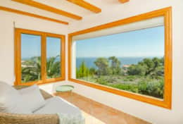 Master bedroom window