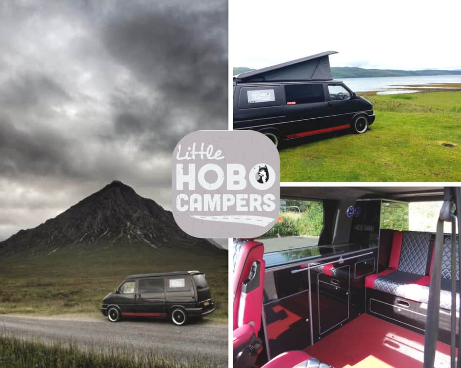 VW Campervan Hire North East | VW T4 Camper | Little Hobo Campers