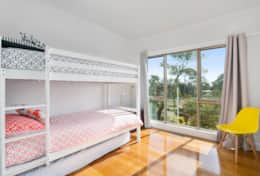 L'Ciabot Rye Bunk Bedroom  - Good House Holiday Rentals Mornington Peninsula