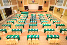 The function room for meetings and events.