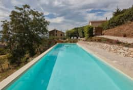 Villa Silvignano private pool