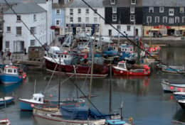 Mevagissey harbour 3 miles from Gorran Haven