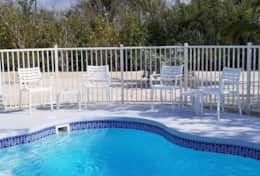 Jetted and heated pool, perfect temperature all year round.