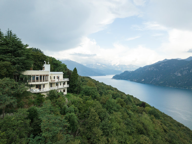 Villa Ponti overlooking Lecco Arm of Lake Como