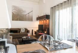 Living space at Le 1818 Brides-les-Bains