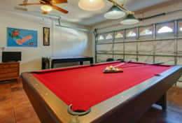 Air-conditioned games room