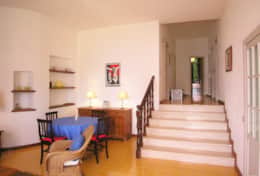 Casa Eolia - from livingroom toward the bedrooms - Castro Marina