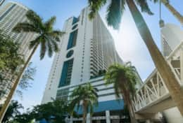 The Grand located in downtown Miami on Biscayne Bay