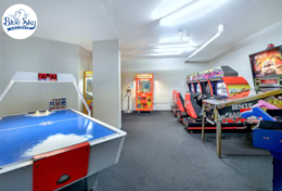 Games Room with coin operated machines