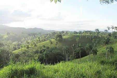 Dominican Republic mountains