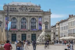 Place Comédie - Famous place in Montpellier