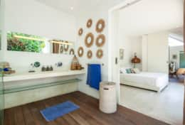 ensuite bathroom of the villa Maz