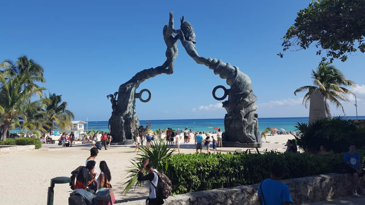 Nearby Playa del Carmen