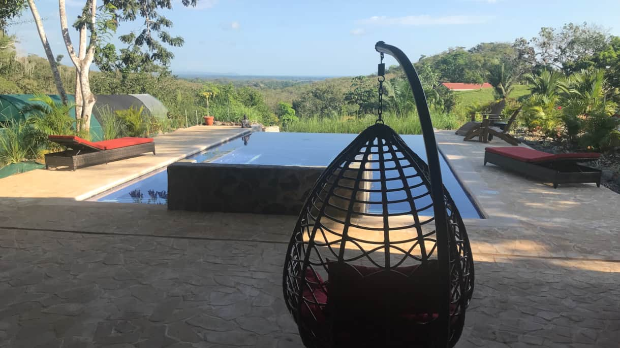 Naked Ashram AirB&B Relax by the Pool