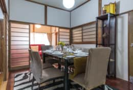 Dining room|Samurai House Tokyo Family Stays |Spacious