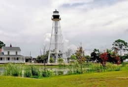 Historical Lighthouse Downtown Port St Joe