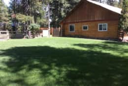 Vac Home_West Side Yard_Badminton Rec area